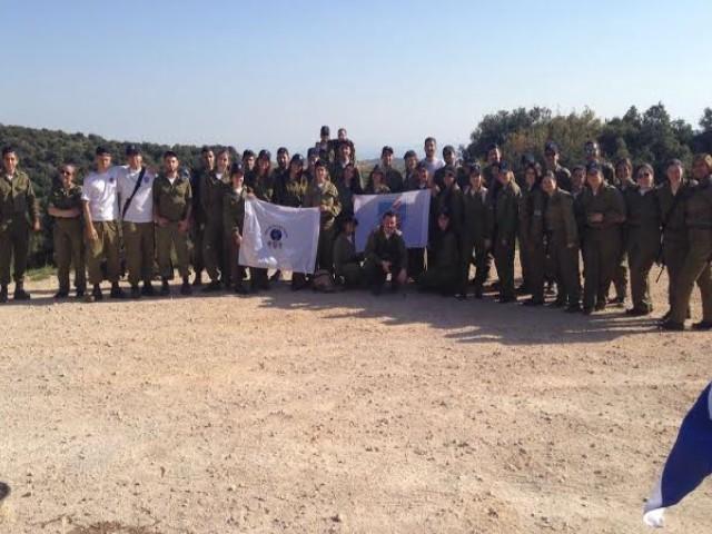 החיילים מגדוד צמרת של יחידת חושן, בהר מירון/