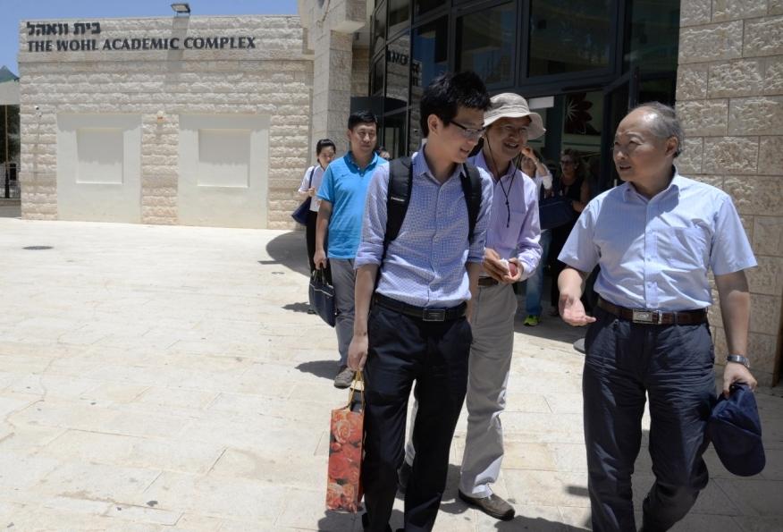 ביקור השגריר הסיני במכללה_6889