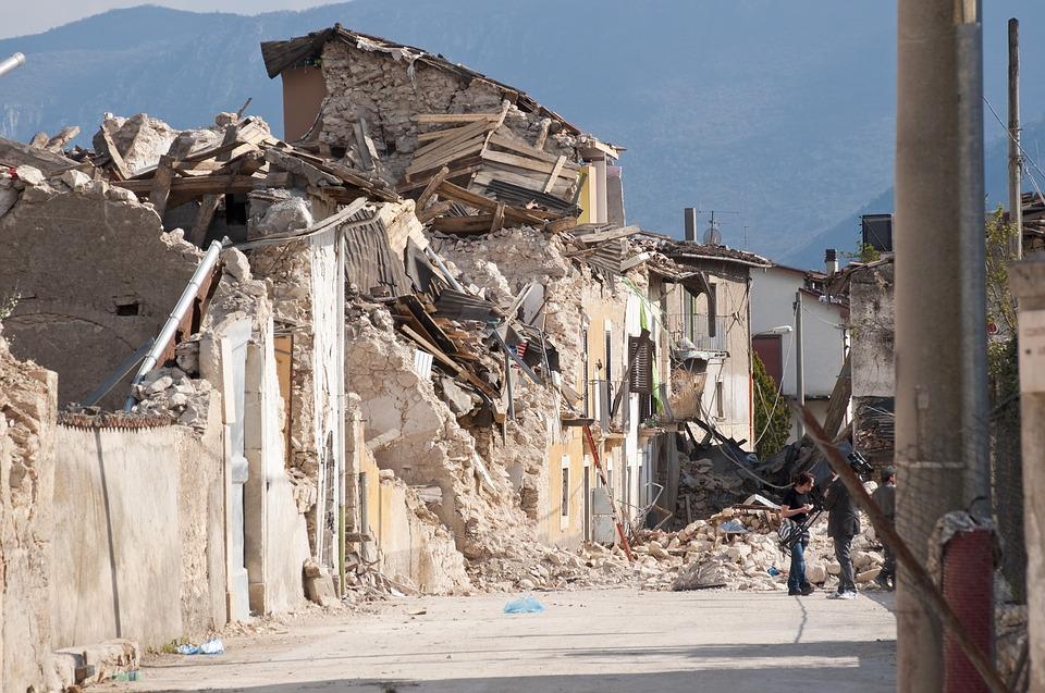 רעידת אדמה באיטליה : צילום - .pixabay