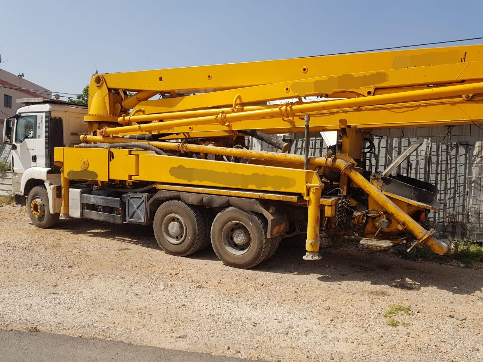 משאית בטון ללא ברקסים – 21 רכבים הורדו מהכביש במבצע בטובא