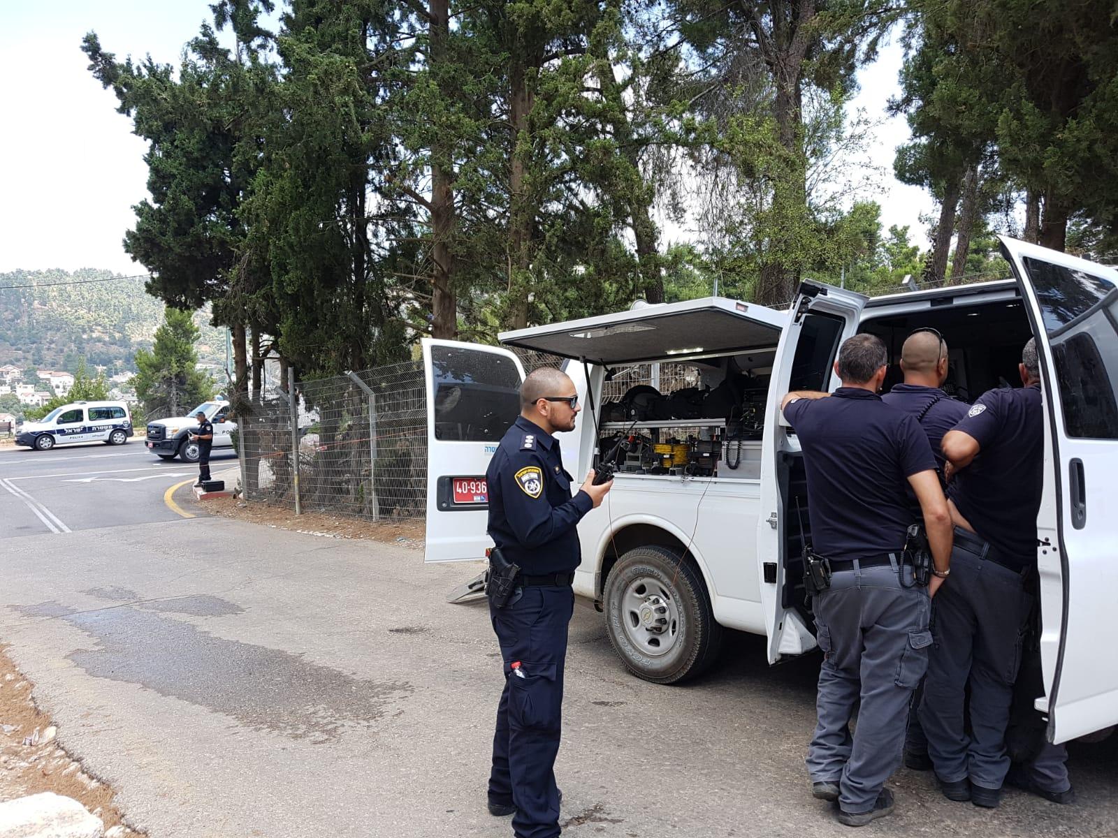 חפץ חשוד התפוצץ בצפת – אין נפגעים