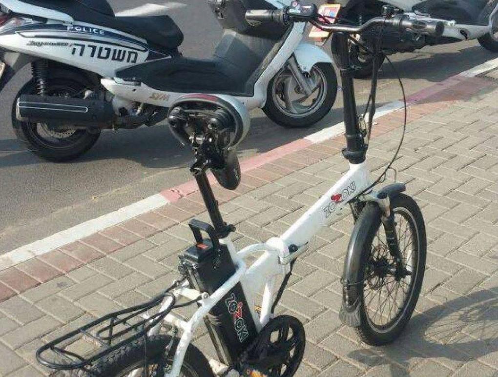 במשטרת צפת נערכים למבצע אכיפה נגד רוכבי אופניים חשמליים
