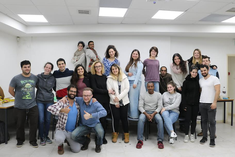 לראשונה בצפת – פעילות התנדבותית  של קהילת סטודנטים לאירועים חברתיים