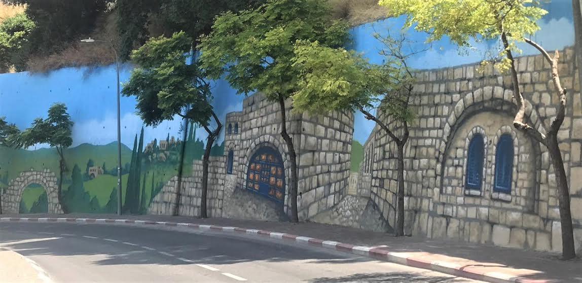צפת – לגור בתוך ציור: בקרוב ציורי תלת מימד במקומות נוספים בעיר