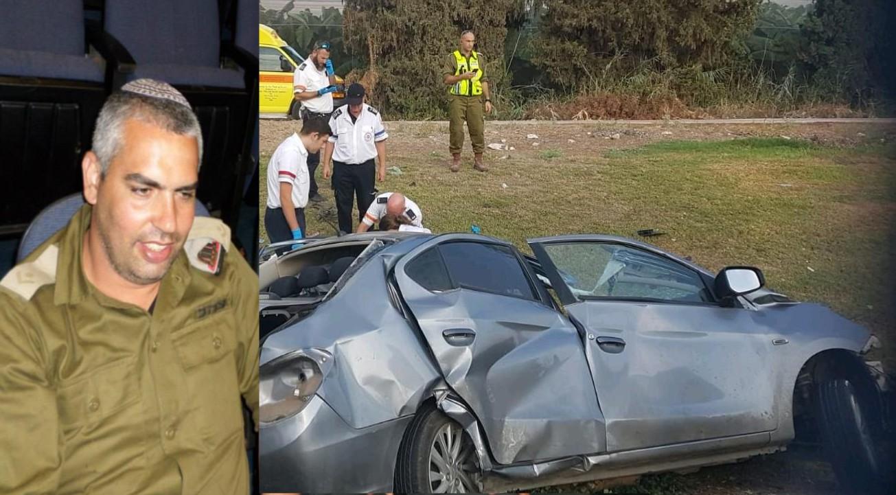 הלם באביבים: הובא למנוחות אבישי ביטון איש צבא קבע – נהרג בתאונת דרכים בכביש 90