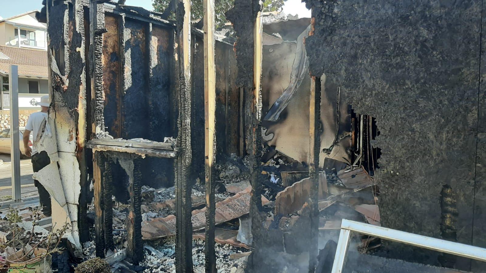 מתגייסים לסייע לאביגיל הגננת מצפת – ביתה נשרף כליל ונותרה חסרת כל