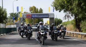 שוטרי תנועה על אופנועים במירון