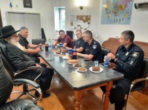 פגישה שוטרים באומן