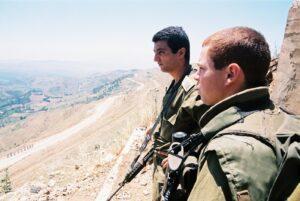 חיילים בגבול לבנון