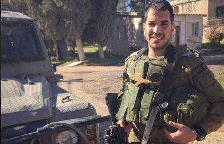 """רס""""ן עוז ג׳ינו קצין האג״ם החטיבתי בחטיבת החילוץ מציין 3 שנים למשלחת הסיוע בנפאל"""