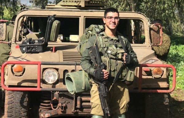 """ליד הבית: אליה פרץ מבר יוחאי השתתף בתרגיל פלס""""ר שריון להגנת הצפון"""