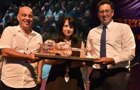 דר' שמחון יקירת הפסטיבל – על תרומתה לחינוך בצפת