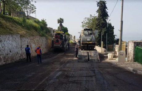 לא משבשים את התנועה: עבודות שיקום תשתיות הכבישים בצפת ייערכו בלילות