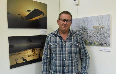 חנוך סייף תושב צפת בין הצלמים שנבחרו להציג בתערוכת הצילום הארצית בנושא נדידת הציפורים