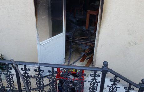 דירה עלתה באש במרכז העיר צפת – אין נפגעים