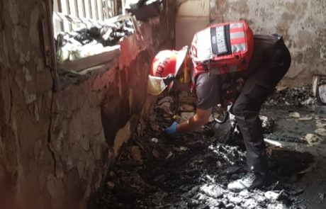 הסיבה לאסון בצפת: משחק ילדים באש