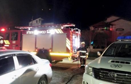 הוצתה מכוניתה של מנהלת בית ספר בגליל – נפתחה חקירה לנסיבות האירוע
