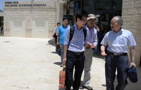made in china – השגריר הסיני התארח במכללה האקדמית בצפת