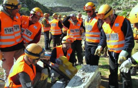 תרגיל מחוזי לתרחיש ברעידת אדמה ייערך בבית ספר אגמים בצפת