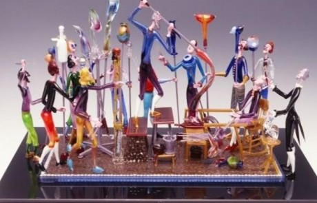 תערוכה: סימפוזיון הזכוכית הבינלאומי בקריית האומנים בצפת