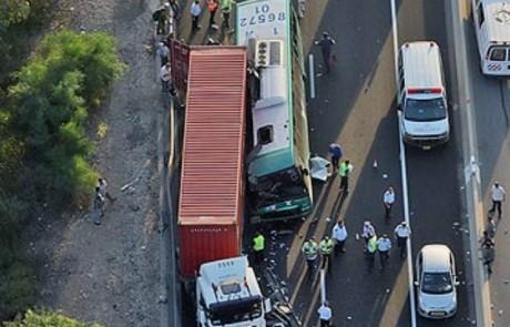 הדמיון המצמרר בין התאונות: 6 שנים חלפו מאז התאונה בה נהרגו חמישה נוסעים  בקו 361 מעכו לצפת