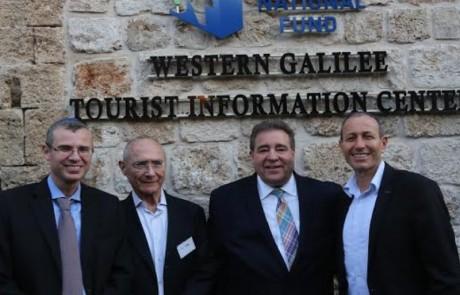 תודה לאמריקאים: בעכו נחנך מרכז מידע לתיירות בגליל המערבי