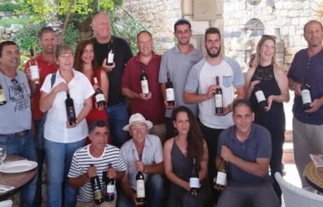 טעימה מוקדמת: מפגש התנעה לקראת פתיחת פסטיבל בשביל היין ה-7 נערך בראש פינה