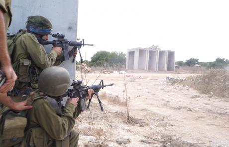 """חיילי חטיבת הנח""""ל הצפוני תירגלו לחימה בבסיס האימונים של פיקוד צפון"""