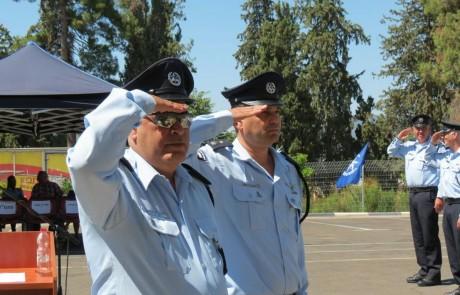 """מפקד חדש למשטרת צפת: סנ""""צ שי דיכטר נכנס לתפקידו"""