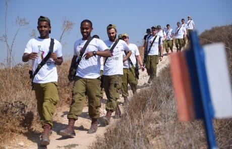 """מדן ועד אילת: חטיבת הנח""""ל קיימה מסע חוצה ישראל במטרה לעודד שירות בחטיבה"""