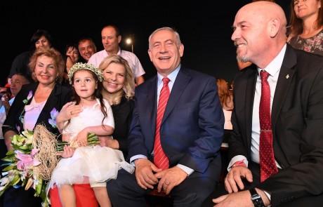 """נתניהו בחגיגות ה-40 לקצרין: """"הגולן היה שלנו והגולן תמיד יהיה שלנו"""""""
