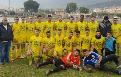 מדהים: קבוצת הנוער של מ.ס. חצור העפילה לשמינית גמר גביע המדינה