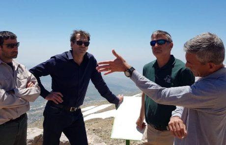 לא רק בחורף – באתר החרמון הוקמו צוותי עבודה לתיירות קיץ