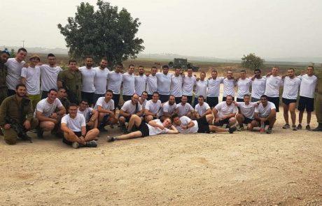 חיילי חטיבה 188 ערכו מרוץ מחיפה עד רמת הגולן