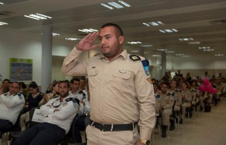"""גאווה לצפון: סמ""""ר יקיר אבוטבול מטבריה נבחר למצטיין זירת ים סוף"""