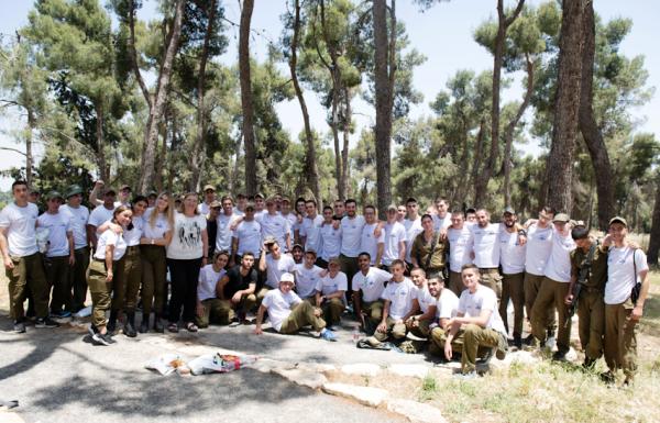ביער ביריה נערך מרוץ ניווט לזכר חללי גדוד 869 גדוד האיסוף הקרבי