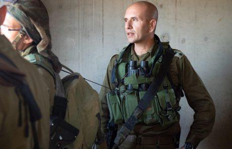 """מפקד עוצבת """"חירם"""", אל""""ם מני ליברטי באגרת ברכה לתושבי הצפון: """"משימתנו לא תמה"""""""