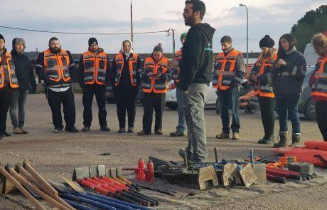 שלא נזדקק: בצפת נערך אימון להגברת המוכנות לחירום