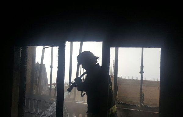 הדרום בוער: שוב שריפה בשכונה הדרומית בצפת – נזק כבד לדירה ברחוב הרצל