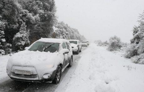 קבלת שבת בלבן: שלג בגולן, הרי הגליל מירון וצפת – חסימות כבישים