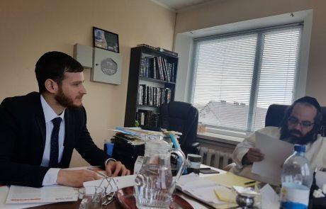 נערכים להילולה באומן: שיתוף פעולה של איחוד הצלה עם הרב קובי ג'אן