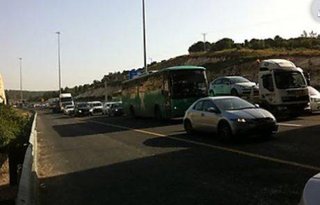 הלחץ עזר: המשטרה תאפשר לתושבי צפת לנסוע הביתה בכביש העוקף מאליפלט