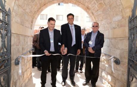 אירוע היסטורי בצפת: בית השער במתחם בוסל שוחזר מחדש