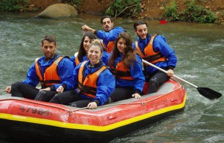 סיבה להרטב בנהר הירדן: לקייקי כפר בלום הותר לארגן שיוטים במהלך החורף