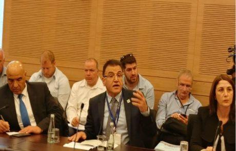"""ד""""ר סלמאן זרקא בכנסת:""""קיימת נכונות לסייע לבתי החולים בצפון, אך התהליך איטי מידי"""""""