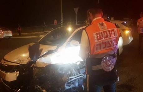 שוב תאונת דרכים בצומת המוות בעמיעד – התושבים קוראים לזרז את ההבטחה להתקנת הרמזורים