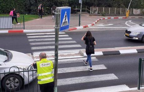 עלייה במספר התאונות בהן נפגעים הולכי רגל במעבר חציה – משטרת צפת פתחה במבצע אכיפה