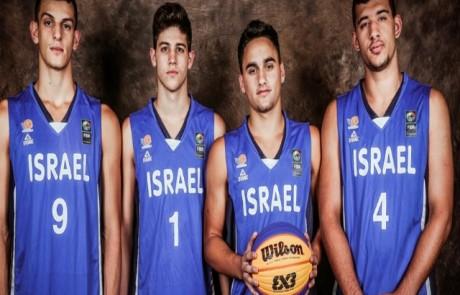 נבחרת ישראל עם טל חדד מצפת תפתח היום את משחקייה באליפות העולם בסין ב-3 על 3