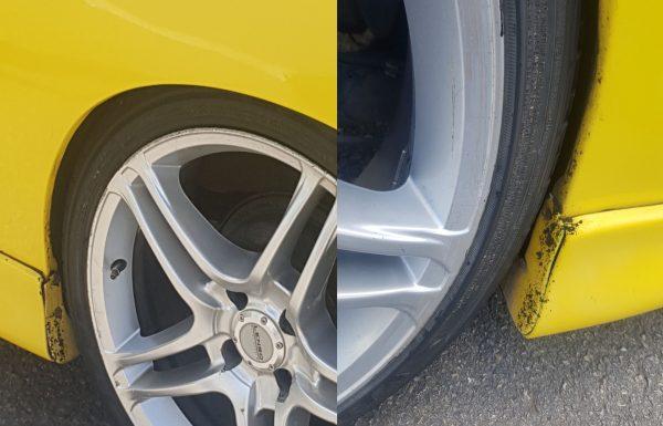 בצפת נלכד נהג שהפך את מכוניתו לרכב מירוצים לא חוקי