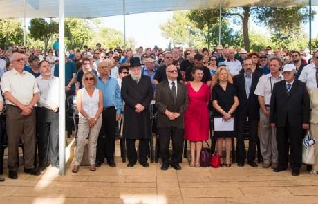 לזכור ולא לשכוח: לראשונה נערכה עצרת שנתית לציון שואת יהדות רומניה – מעל 400 אלף נספו בשואה